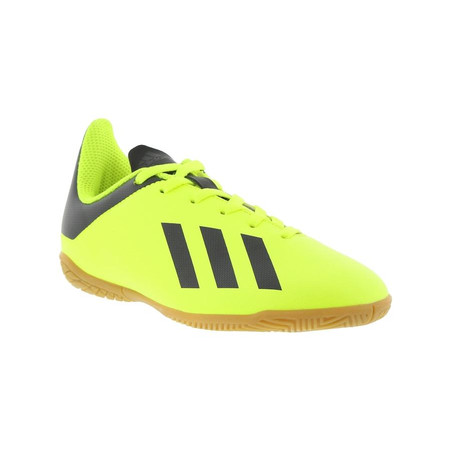 Chuteira Futsal adidas X Tango 18.4 IC - Infantil cd7bc52c4727e