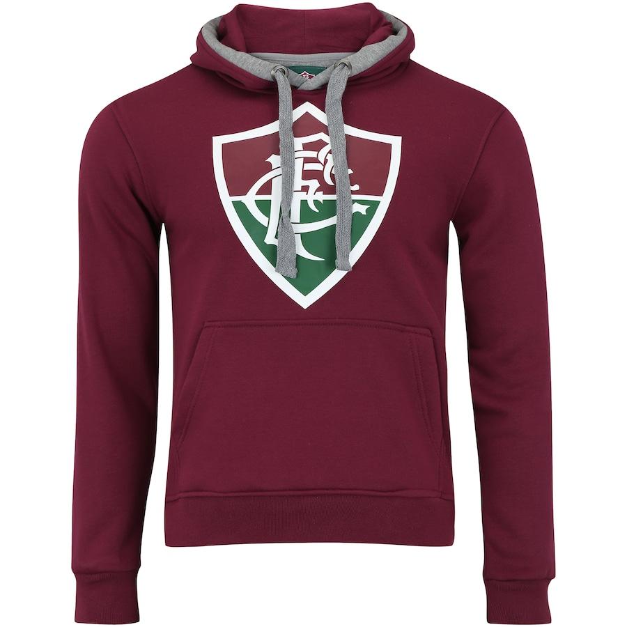 Blusão de Moletom do Fluminense com Capuz Meltex - Masculino 16627e33e9f1d