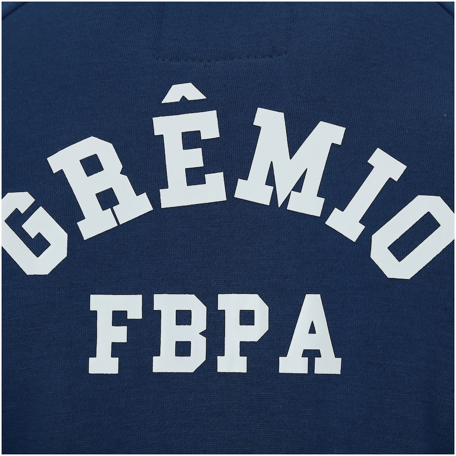 Jaqueta de Moletom do Grêmio com Capuz Meltex - Masculina 10f19bafe0725