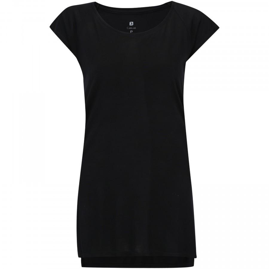 2f80c45eeb Camiseta Longline Oxer Half - Feminina