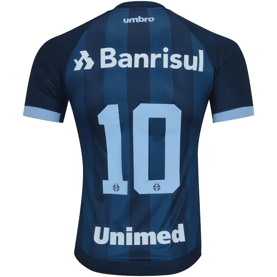 Camisa do Grêmio III 2017 nº 10 Umbro - Masculina 6bc138f1608e2