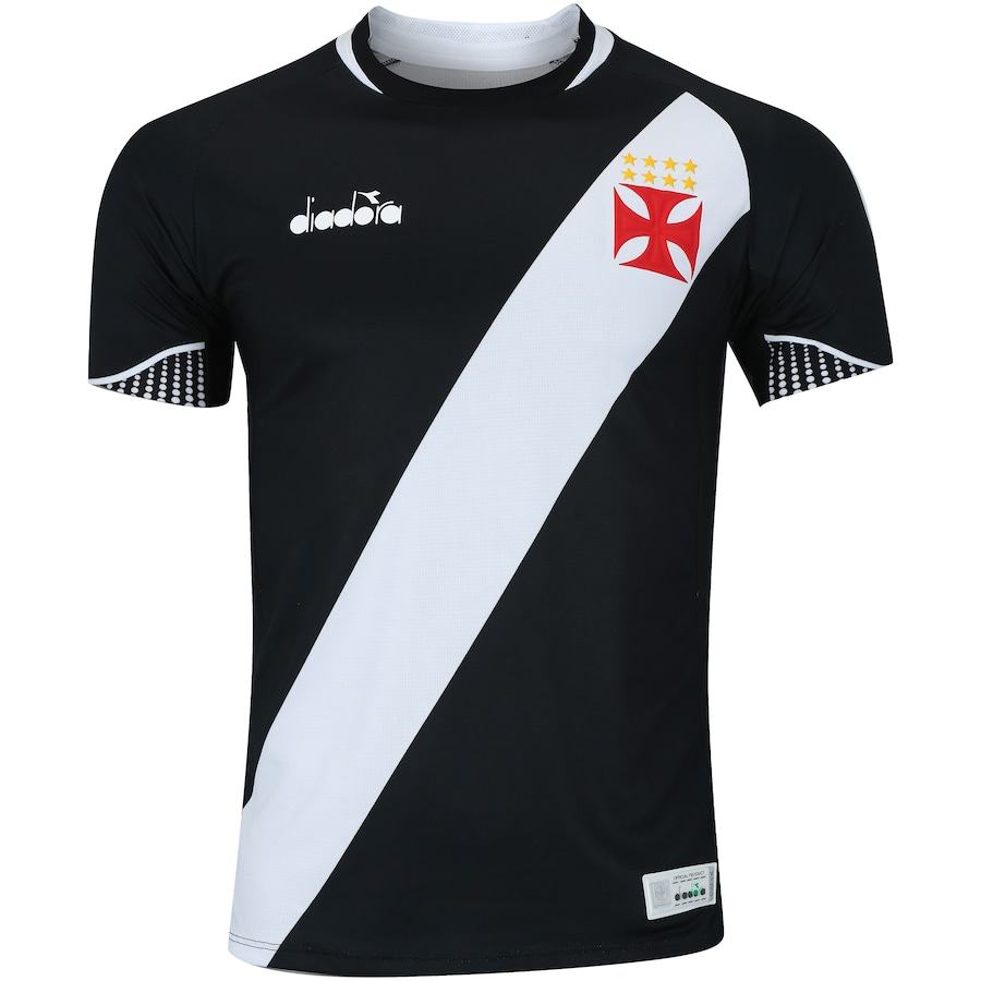 47398f7a34 Camisa do Vasco da Gama I 2018 Diadora - Jogador