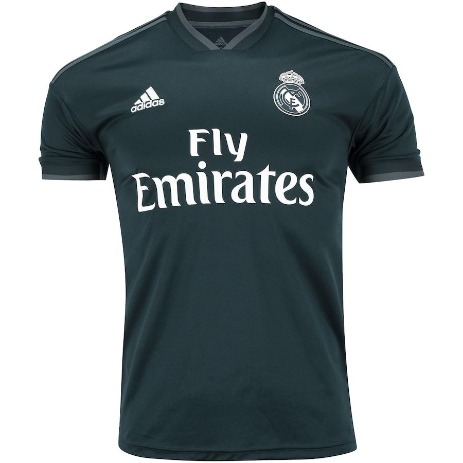 5e1d3020f33a9 Camisa Real Madrid II 18 19 adidas - Masculina