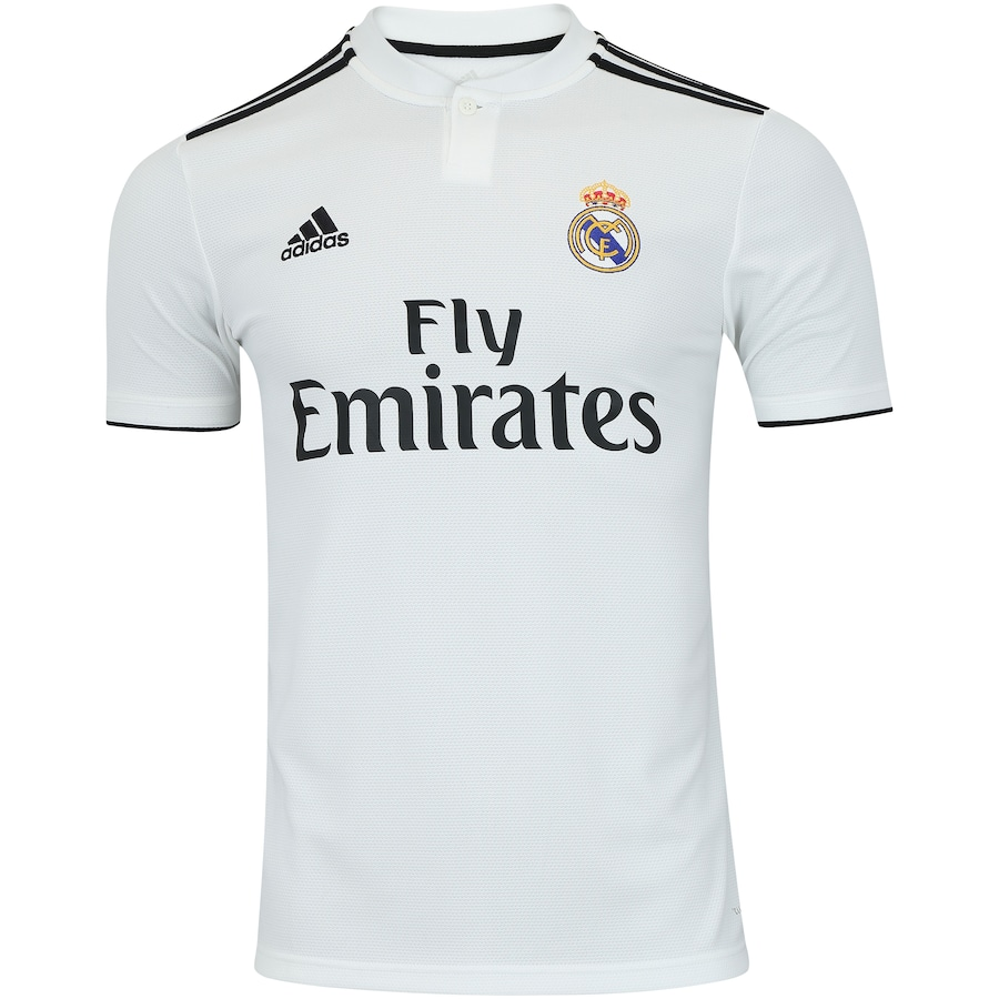 b010e390515d9 Camisa Real Madrid I 18 19 adidas - Masculina