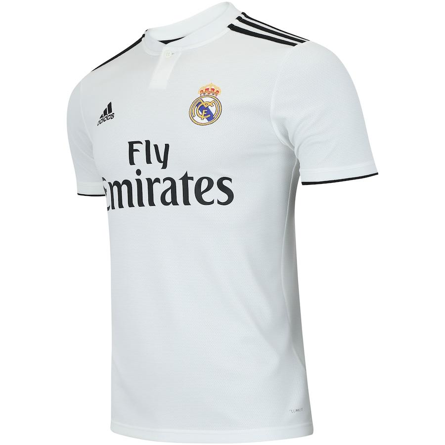 fedefdedc5 Camisa Real Madrid I 18 19 adidas - Masculina