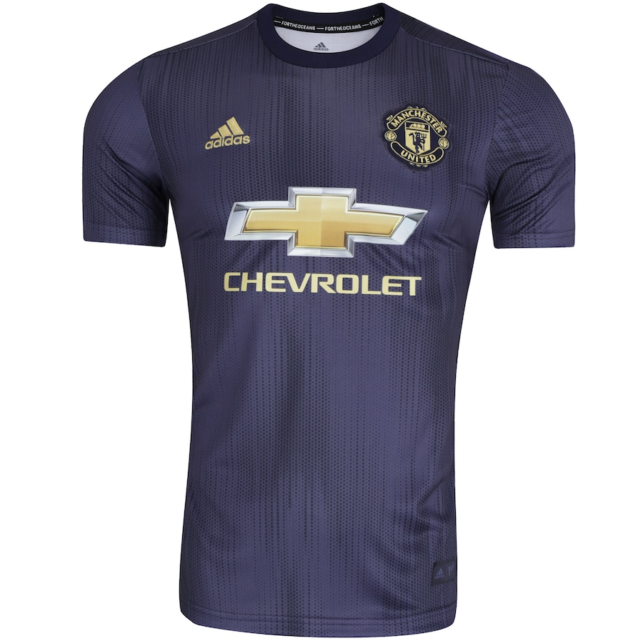 d4e7923684d Camisa Manchester United III 18 19 adidas - Masculina