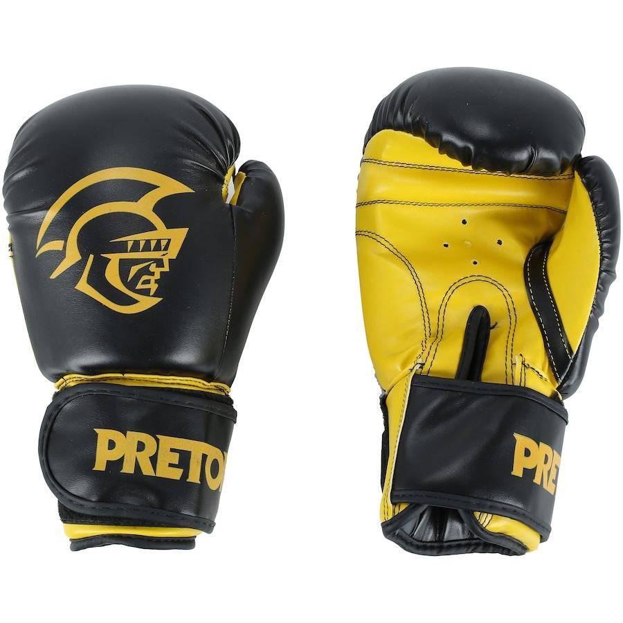 8f363c349 Luvas de Boxe Pretorian First - 14 OZ - Adulto