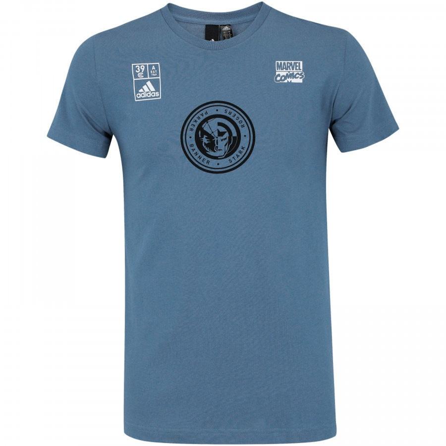 Camiseta adidas Marvel Team - Masculina 4c758671d5b19