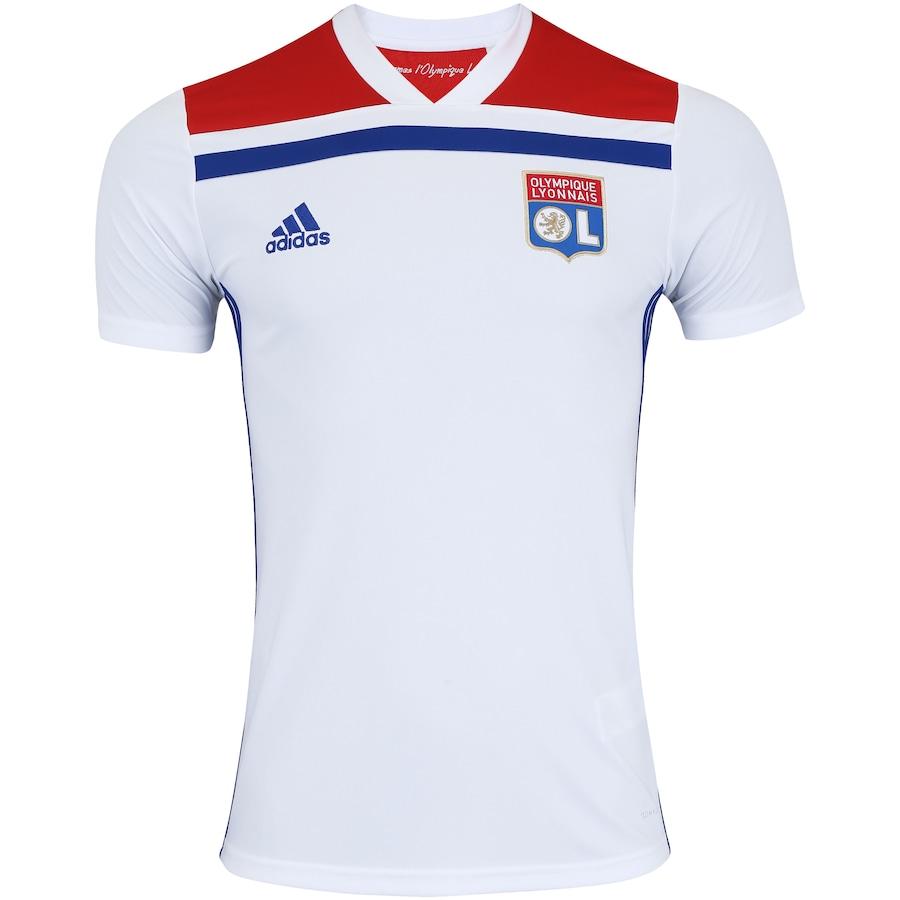 3def0eb8cd Camisa Lyon I 18 19 adidas - Masculina