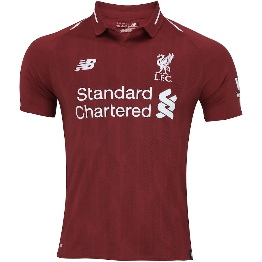 3eddb7d0c4 Camisa Liverpool I 18 19 New Balance - Masculina