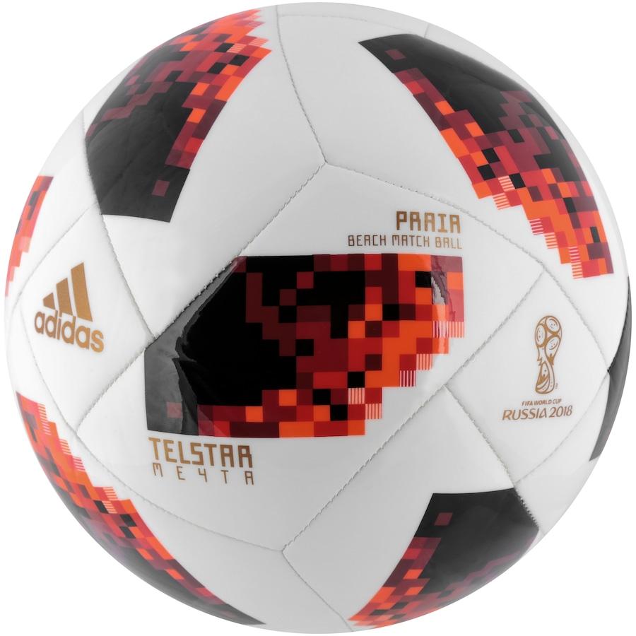Bola de Futebol de Areia Telstar Oficial Finais da Copa do Mundo FIFA 2018  adidas 7d2b9913b78f2