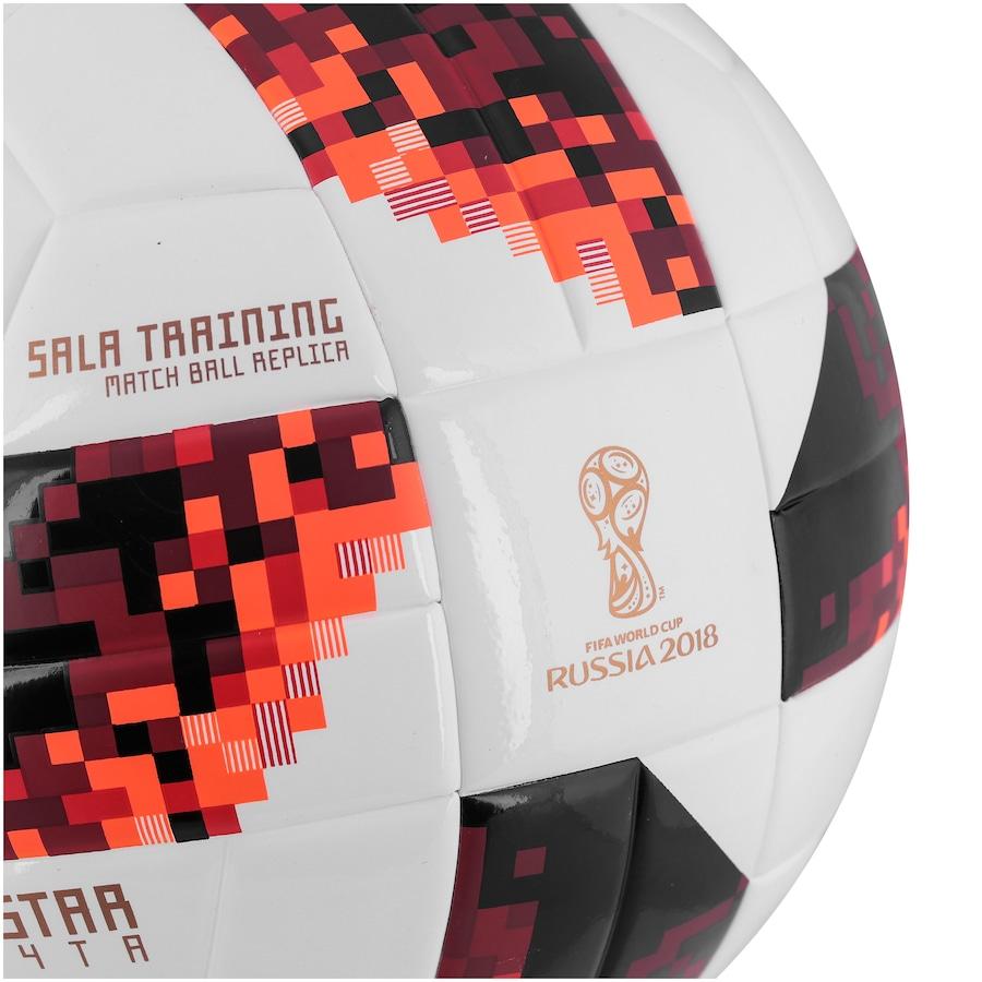 Bola de Futsal Telstar Oficial Finais da Copa do Mundo FIFA 2018 adidas  Sala Training 48a23dd5049e9