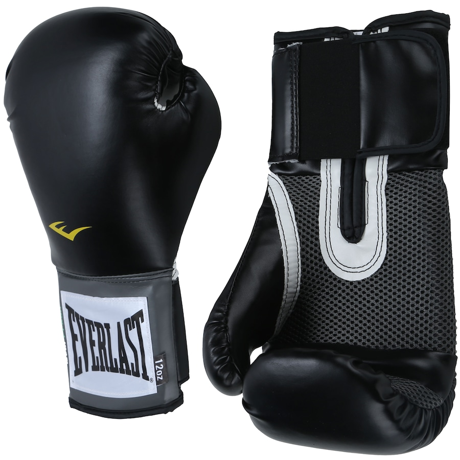 0a4a37f92 Kit de Boxe Everlast  Bandagem + Protetor Bucal + Luvas de Boxe Training - 12  OZ - Adulto