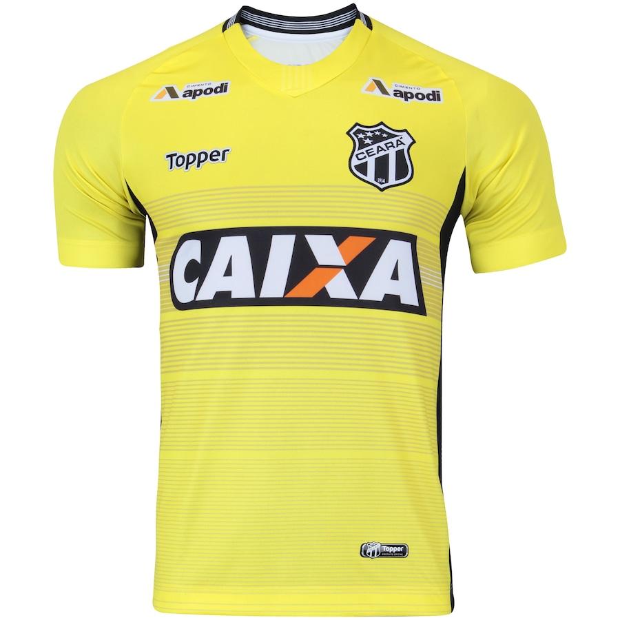 Camisa de Goleiro do Ceará I 2018 Topper - Masculina e95abb5d726bc