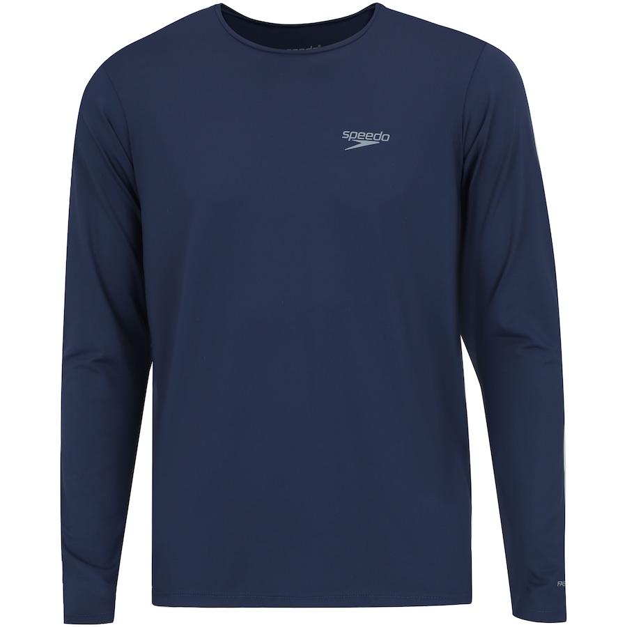 33ac60f08 Camiseta Manga Longa com Proteção Solar UV Speedo - Masculina