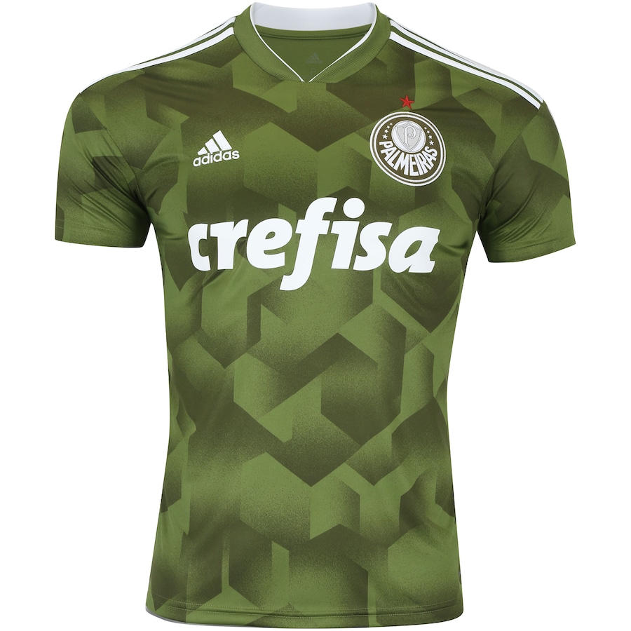 Camisa do Palmeiras III 2018 adidas - Masculina 4170c5fdd4324