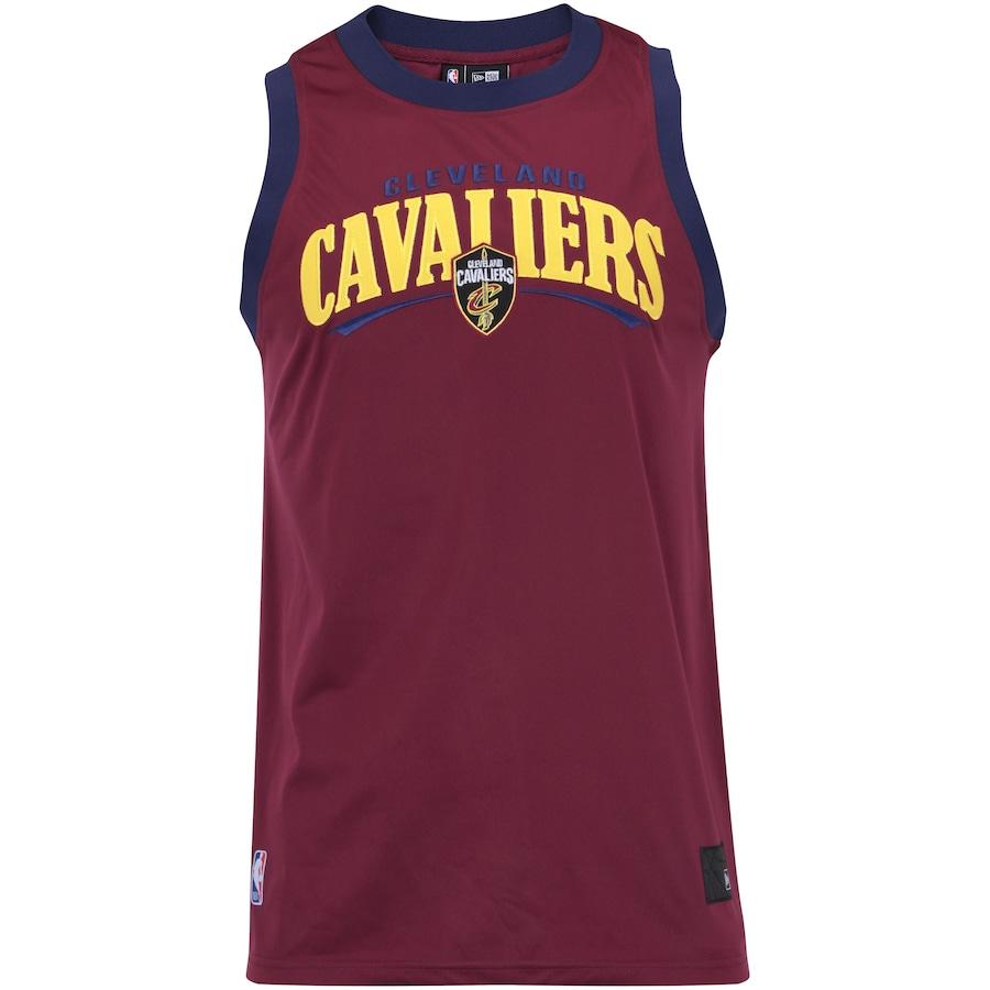 8f97b0ad34 Camiseta Regata New Era Cleveland Cavaliers Versatile Sport Wave - Masculina