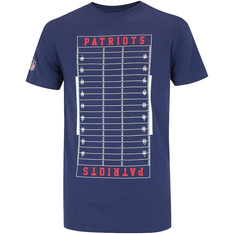 Camiseta New Era New England Patriots Versatile S - Masculina af481486e8ef4