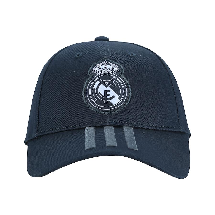 Boné Aba Curva Real Madrid 3S adidas - Strapback - Adulto 0fcc80751ae