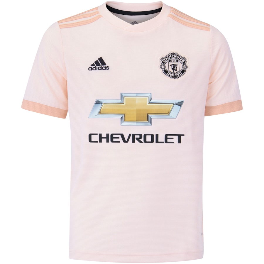 Camisa Manchester United II 18 19 adidas - Infantil 45a10687748aa