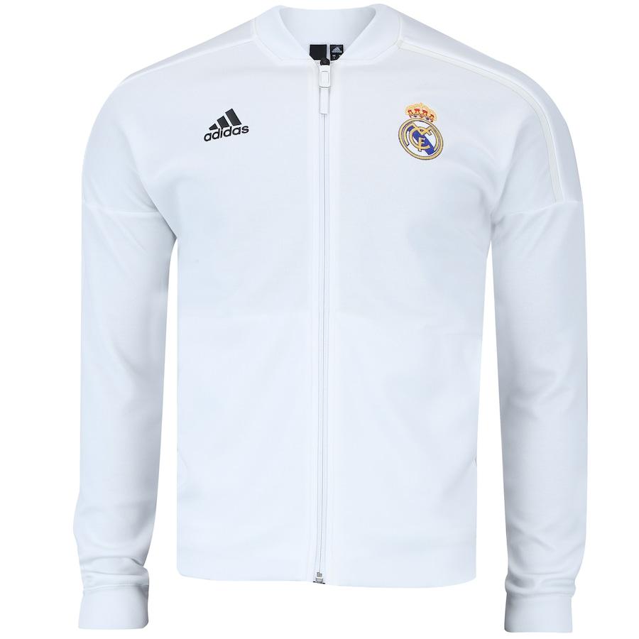 Jaqueta Real Madrid 18 19 ZNE adidas - Masculina b25cf990a7cb0