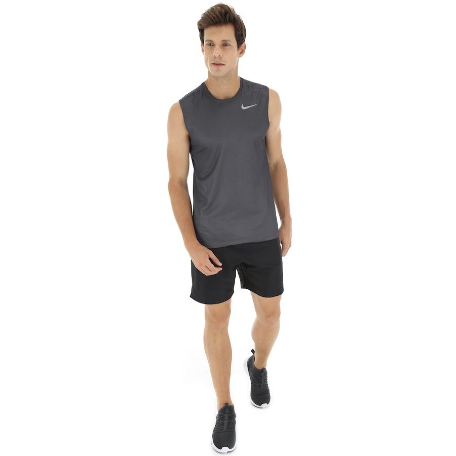 Camiseta Regata Nike Breathe Run SL - Masculina 8c225399ab6
