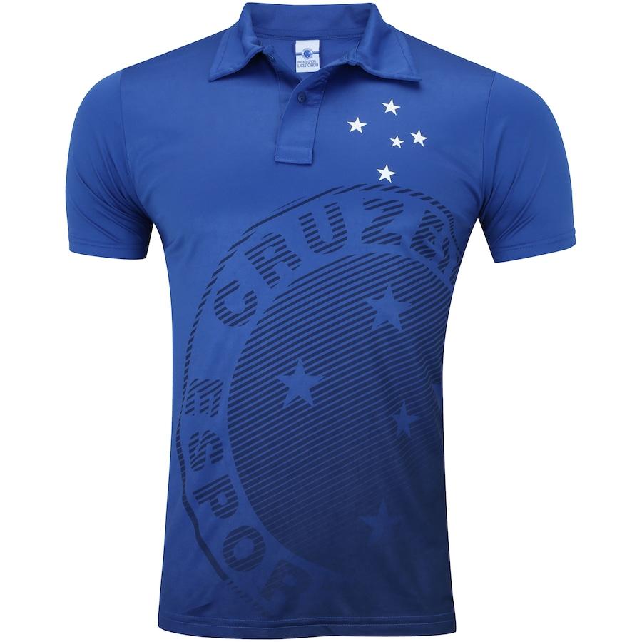Camisa Polo do Cruzeiro Shadow - Masculina 68bf3dc682f64