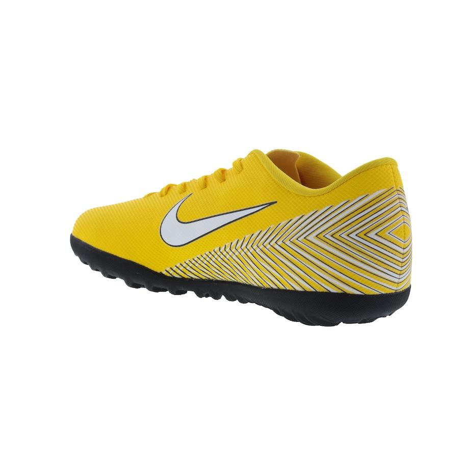 Chuteira Society Nike Mercurial Vapor X 12 Club Neymar Jr. TF - Adulto 35d8e4313fce5