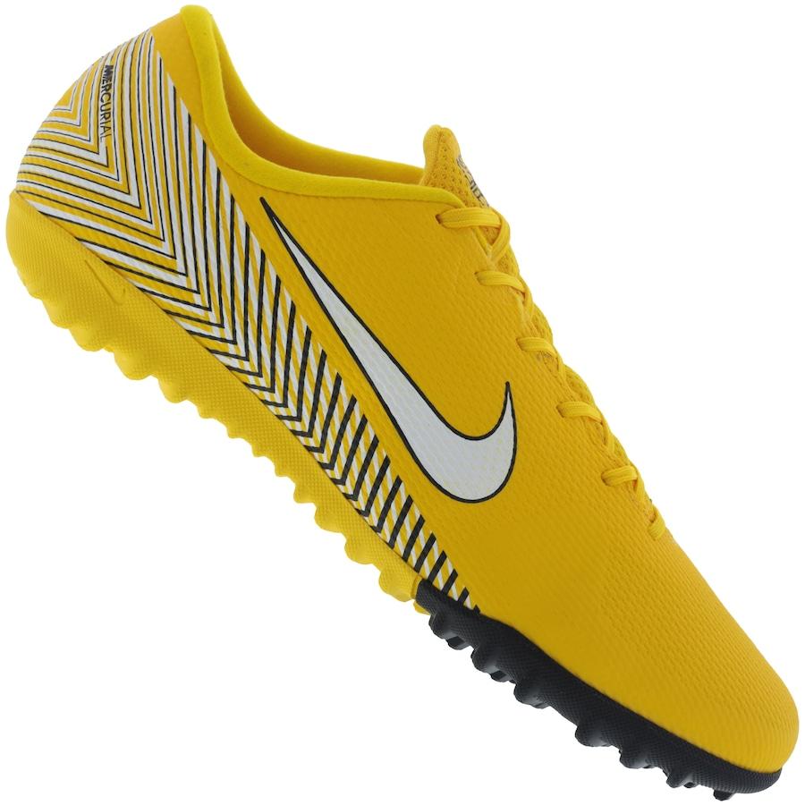 b86bd2ee80ef1 Chuteira Society Nike Mercurial Vapor X 12 Academy Neymar Jr. TF - Adulto