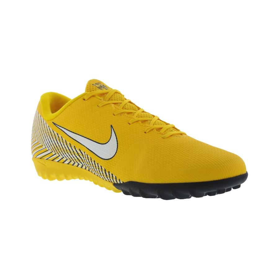 Chuteira Society Nike Mercurial Vapor X 12 Academy Neymar Jr. TF - Adulto 0c66221e8b2fd