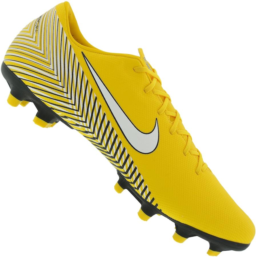 40b5fc75f72fa Chuteira de Campo Nike Mercurial Vapor 12 Academy Neymar Jr. FG/MG - Adulto  ...