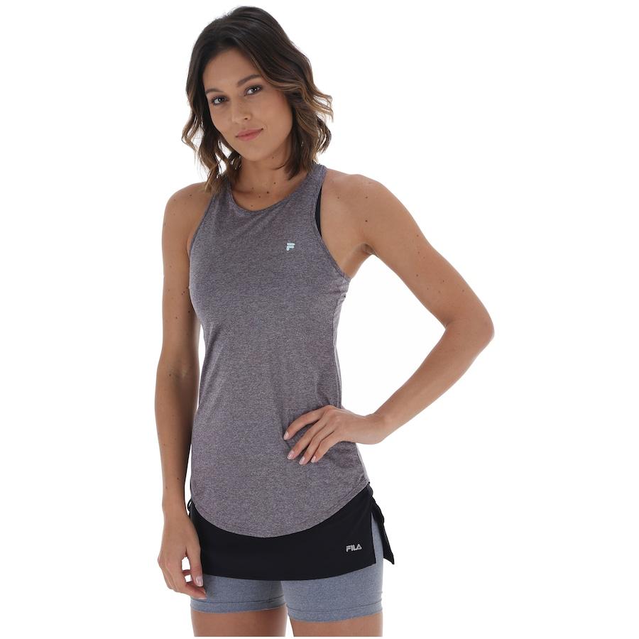 Camiseta Regata Fila Basic Melange - Feminina 2f8a89370ef16
