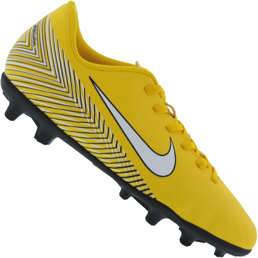 Chuteira de Campo Nike Mercurial Vapor 12 Club Neymar Jr. FG MG - Infantil 3f1aab82097dd