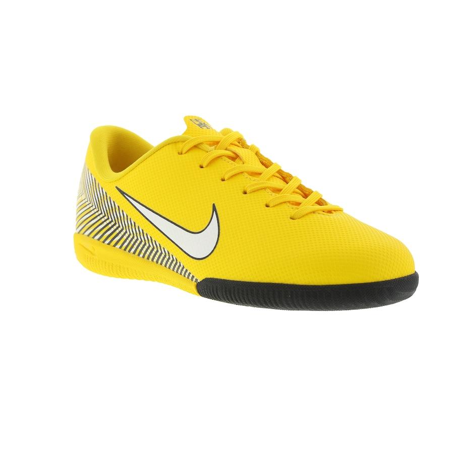 Chuteira Futsal Nike Mercurial Vapor X 12 Academy Neymar Jr. IC - Infantil 2b090de903fe7