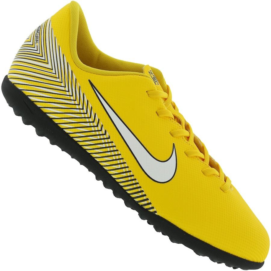 9ef29a04372 Chuteira Society Nike Mercurial Vapor X 12 Club Neymar Jr. TF - Infantil