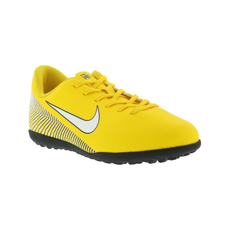 9157ac8cfe Chuteira Society Nike Mercurial Vapor X 12 Club Neymar Jr. TF - Infantil