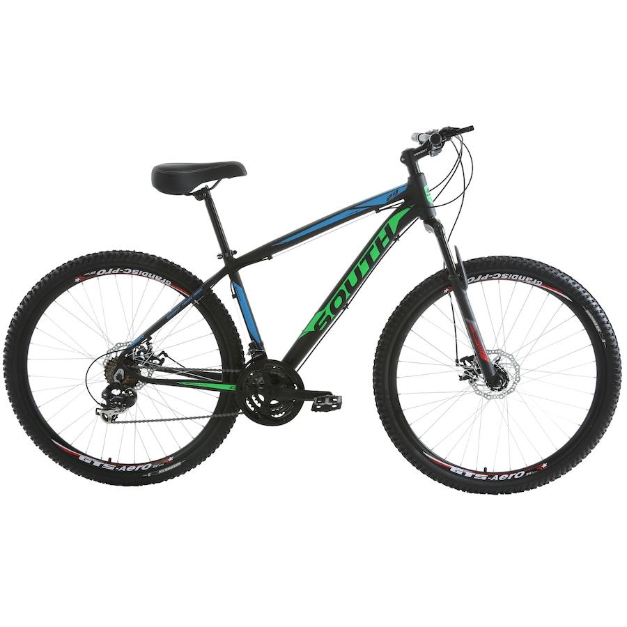fc7200eee Mountain Bike South Bike Legend 2018 - Aro 29 - Freio a Disco Mecânico -  Câmbio Shimano - 21 Marchas