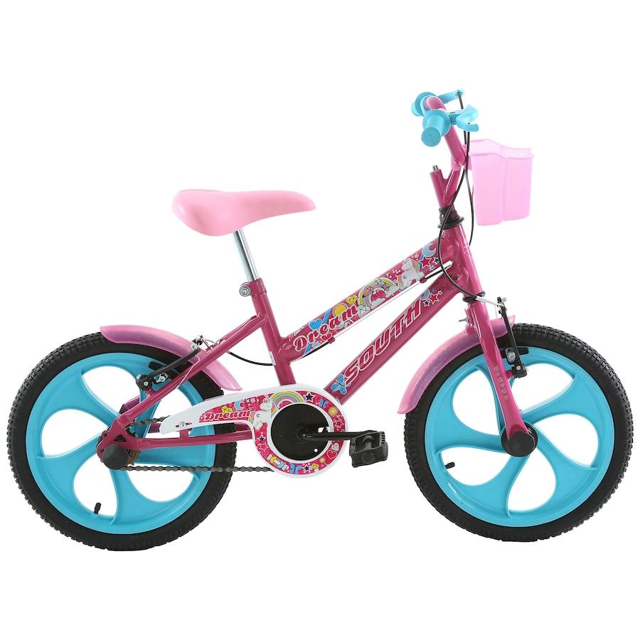1517c13fb6314 Bicicleta Oxer - Aro 16 - Freio V-Brake - Feminina - Infantil