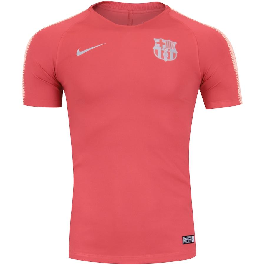 Camisa de Treino Barcelona 18 19 Nike - Masculina f361aa330ea99