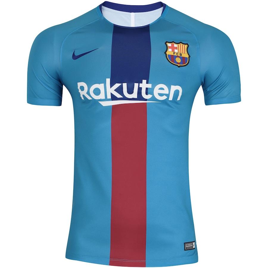 4bbaa6d21d Camisa Barcelona Dry Squad Nike - Masculina