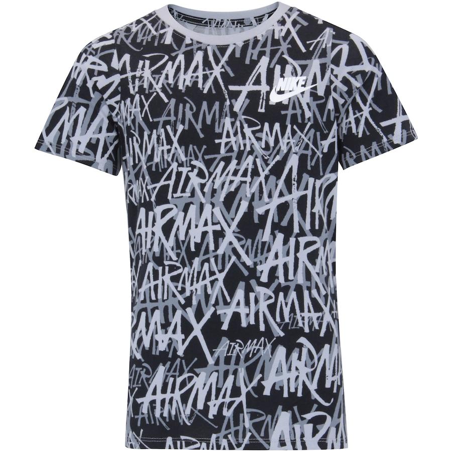 1b82ec284 Camiseta Nike Sportswear Airmax Felt AOP - Infantil
