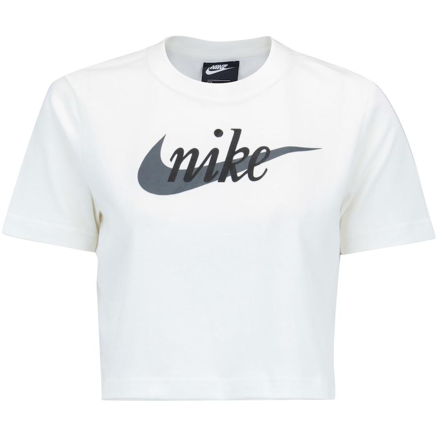 06d87d4d623a3 Blusa Cropped Nike Sportswear Top SS HBR - Feminina