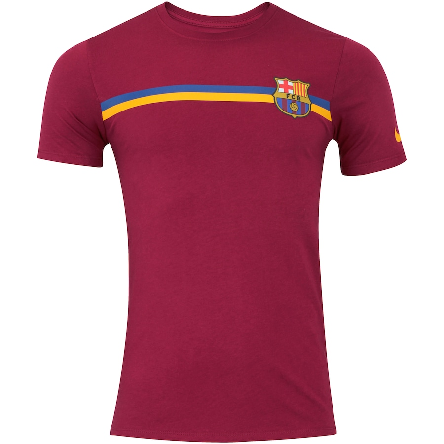 Camiseta Barcelona Crest TEE Nike - Masculina 1264d4e9dfc89