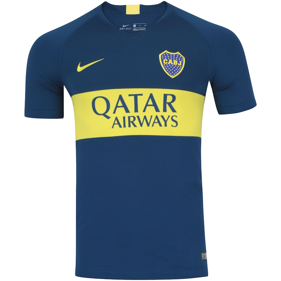 Camisa Boca Juniors I 18 19 Nike - Masculina 9ab37734b6296