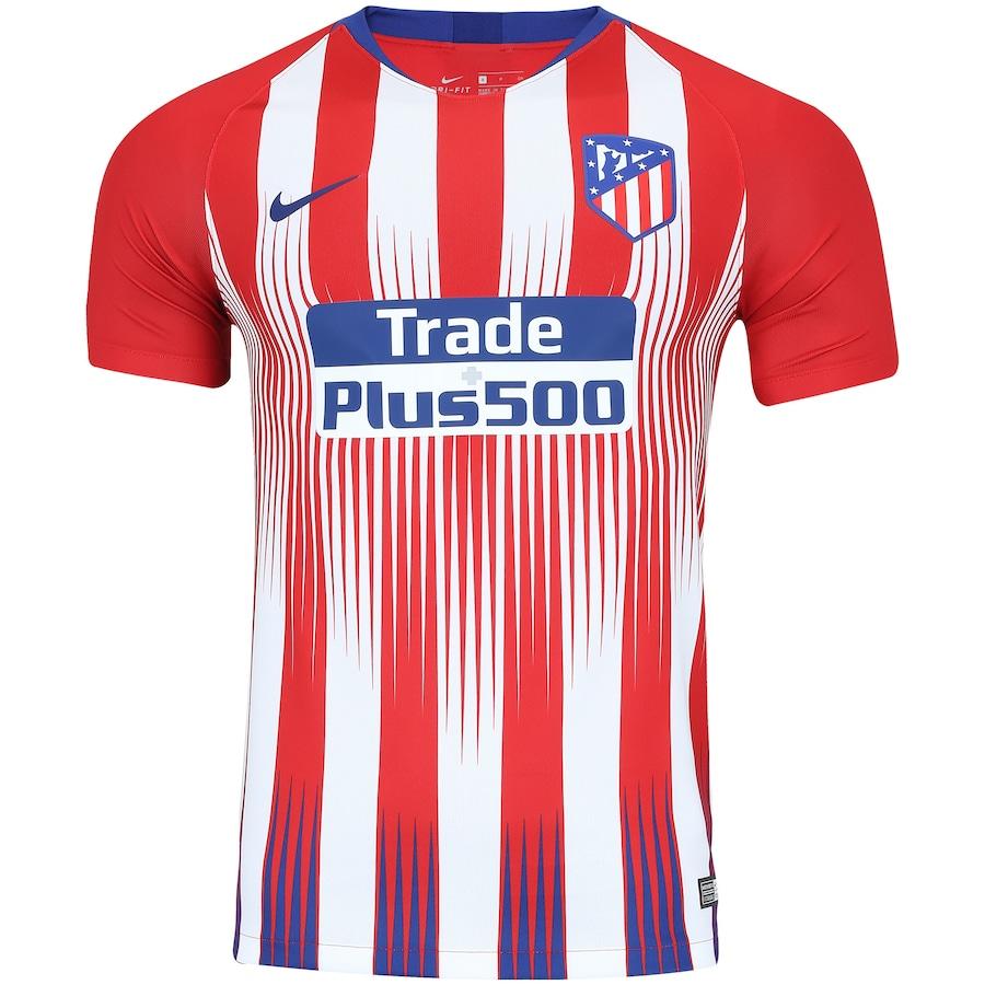 Camisa Atlético de Madrid I 18 19 Nike - Masculina 82c68a6c78df6