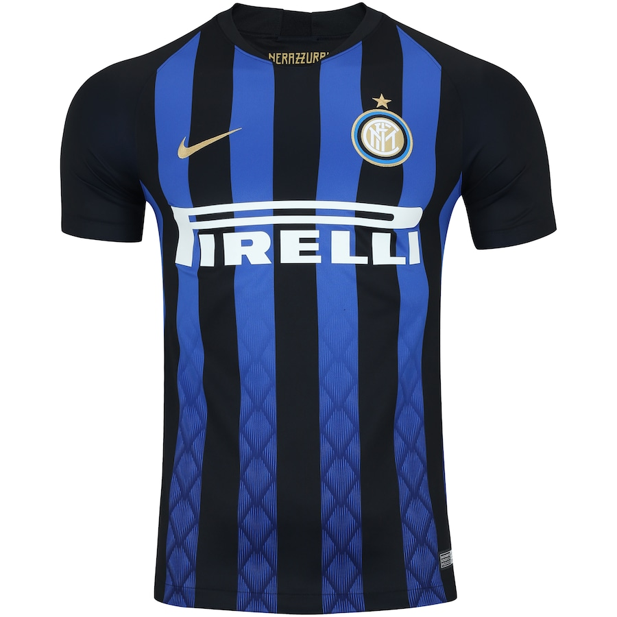 Camisa Inter de Milão I 18 19 Nike - Masculina 22eaf6ddb0648