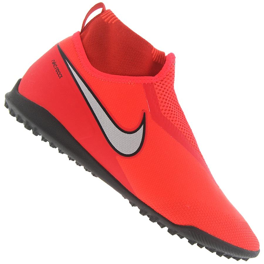 9ce44bf465 Chuteira Society Nike React Phantom VIVSN Pro DF TF - Adulto