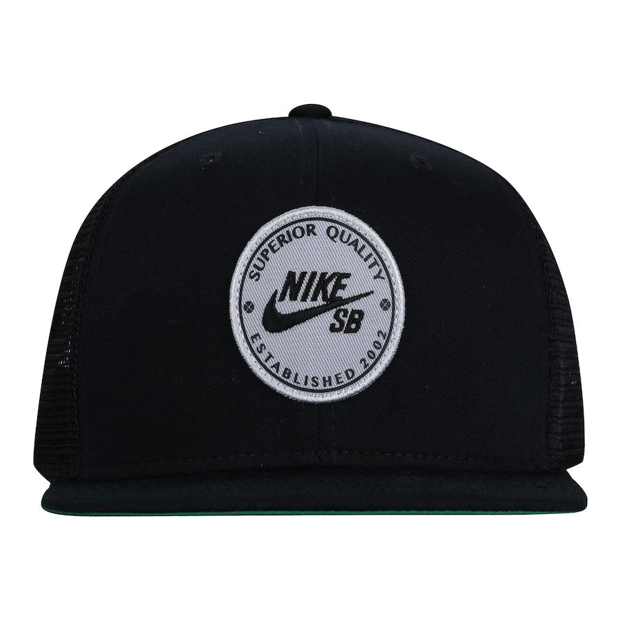 Boné Aba Reta Nike SB Patch - Snapback - Trucker - Adulto 07252f6edbf