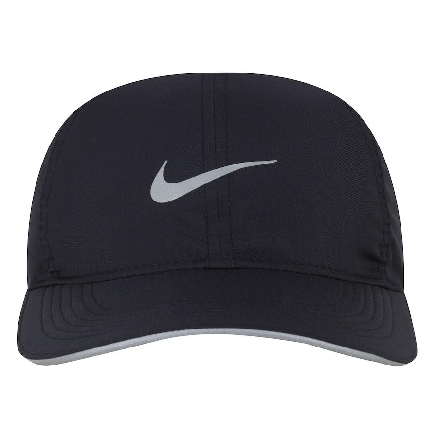 ... Boné Aba Curva Nike Featherlight Run - Strapback - Adulto. Imagem  ampliada  Passe o mouse para ver a imagem ampliada 76bec45c9d8