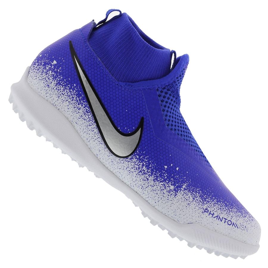 3b755df30a Chuteira Society Nike Phantom VIVSN Academy DF TF - Infantil